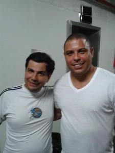 Senna e Ronaldo Nazario