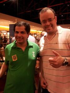 Senna e Everaldo Marques