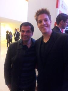 Senna e Fábio Porchat