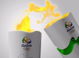 Revezamento Tocha Olimpica Olimpíadas Rio de Janeiro 2016
