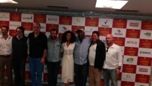 Francesco Civita,Beto Gauss,Paulo Tiefenthaler,Caíto Ortiz,Taís Araújo,MC Catra,Stepan Nercessian e Lusa Silvestre