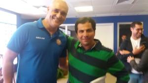 Senna e Marcos Reis Palmeiras