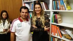 Cel Senna e Katia Aveiro