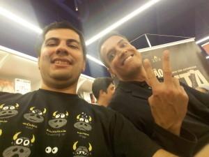 Cel Senna e Leo Dias