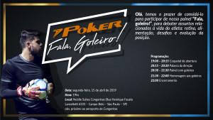 Convite II Fala Goleiro Poker São Paulo 2019